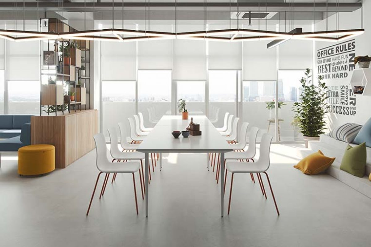 New Noom 50 by Actiu, a versatile chair for work, home and hospitality settings
