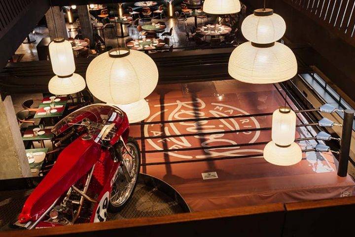 Revival Café by Stone Designs, the restaurant that worships the motor world
