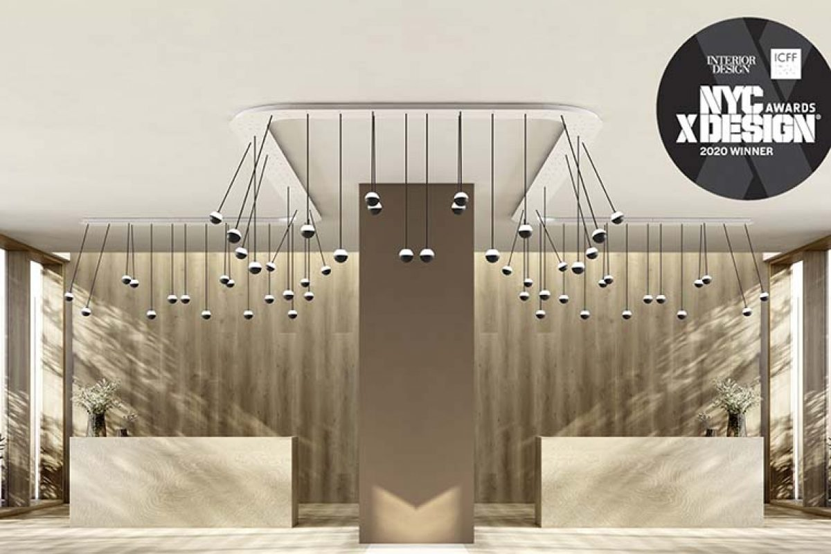 estudi{H}ac and Estiluz are recognized at the NYCxDESIGN AWARDS for Alfi lighting system