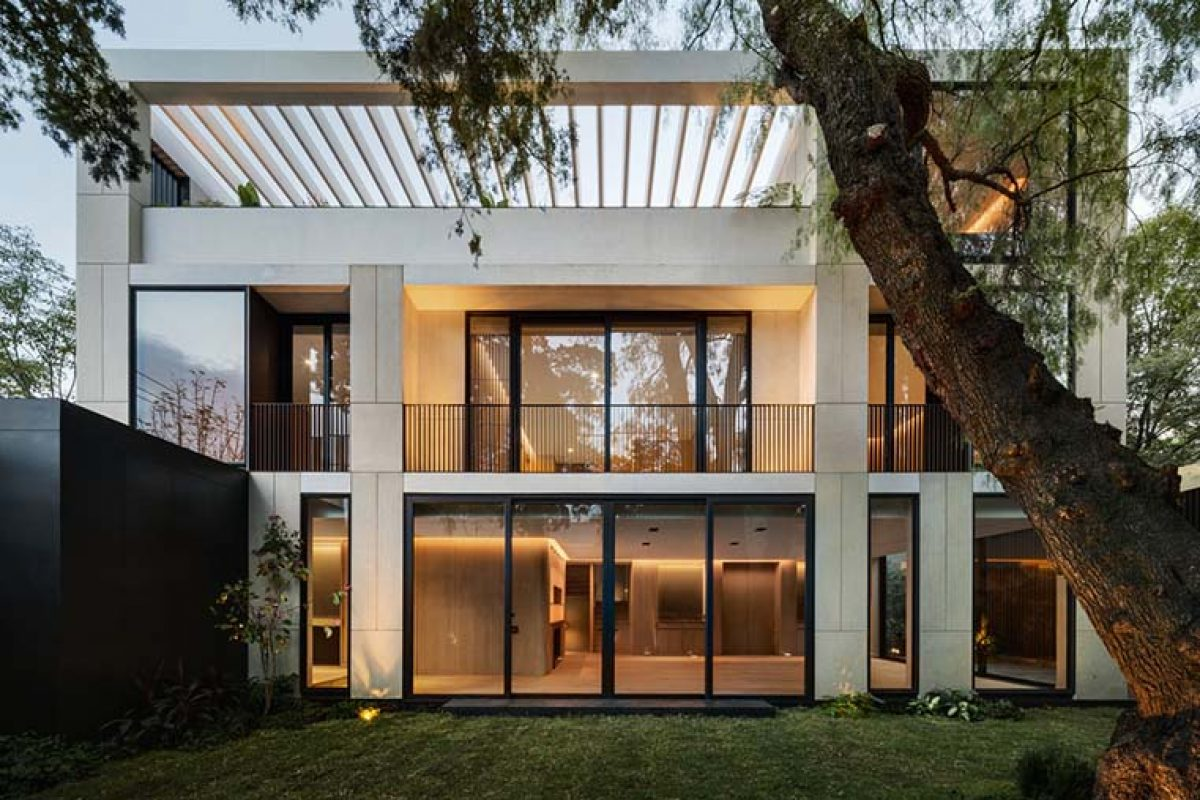 Alencastre 360, a single-family house in Mexico City by HEMAA