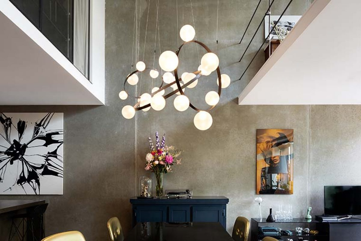Moooi launches Hubble Bubble, the lighting design by Marcel Wanders studio