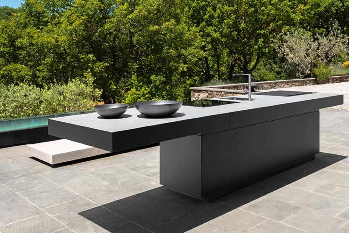 Tikal, the first outdoor kitchen line of Talenti, designed by Anidride