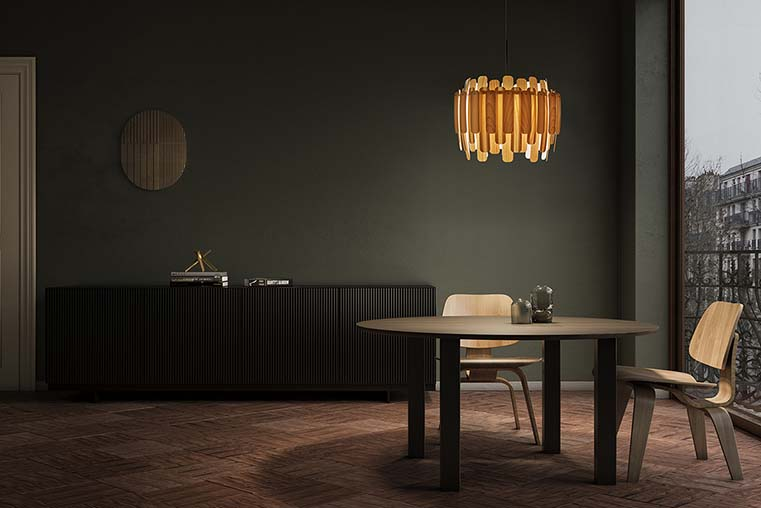 Maruja, the new lamp by LZF inspired by the essence of contemporary women