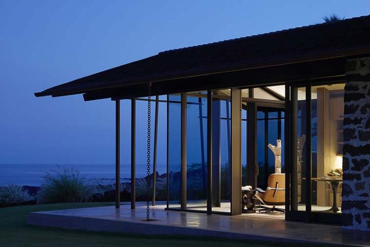 Walker Warner Architects is inspired by traditional Hawaiian villages to design the Makani Eka Villa