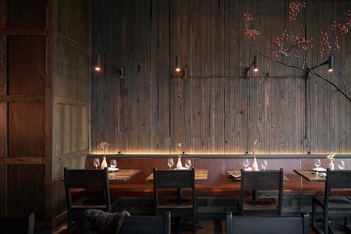 Samara, a new restaurant in Seattle by Mutuus Studio showcases the craft of food and design