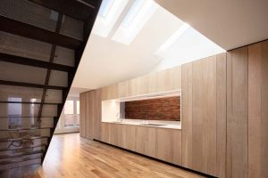 Light as the theme of a minimal and modern intervention. A project by Bushman Dreyfus Architects