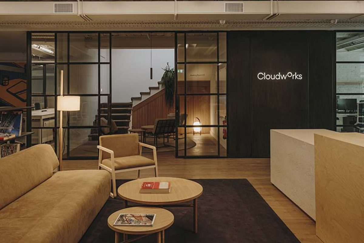 The versatility of this coworking space designed by Sandra Tarruella for Cloudworks