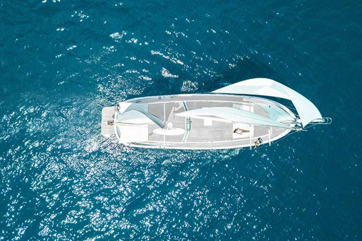 Topaz of Braye by Fran Silvestre Arquitectos. Completely redesign a 20-meter long Turkish schooner