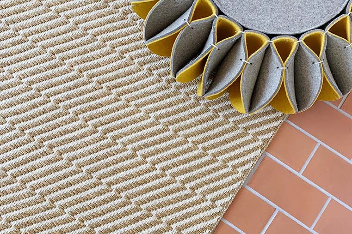 Outdoor and indoor rug PL-01, designed by Romero & Vallejo for Now Carpets