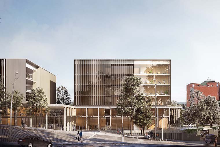 Pinearq wins the international competition for the construction of an innovative comprehensive transplant centre in Romania