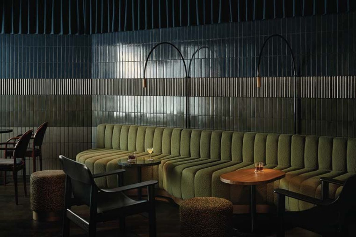 Bardem Cocktail Bar in Helsinki by Fyra. The modern interpretation of a Speakeasy Bar