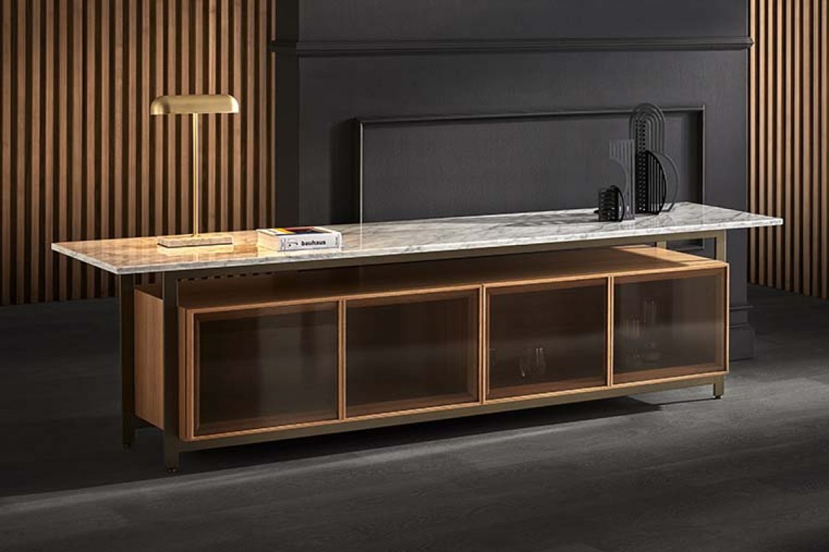 Chicago cabinet by Norm Architects for Punt. A piece of modern architecture