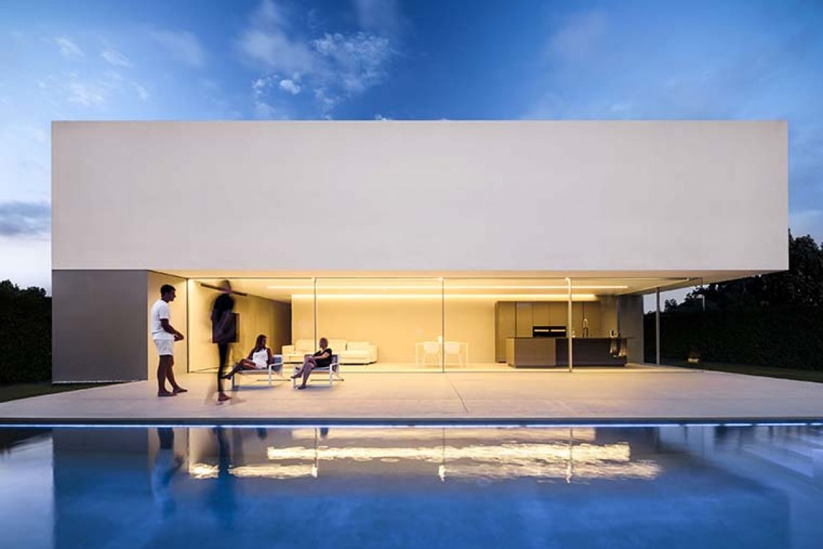 The House of the Silence by Fran Silvestre Arquitectos