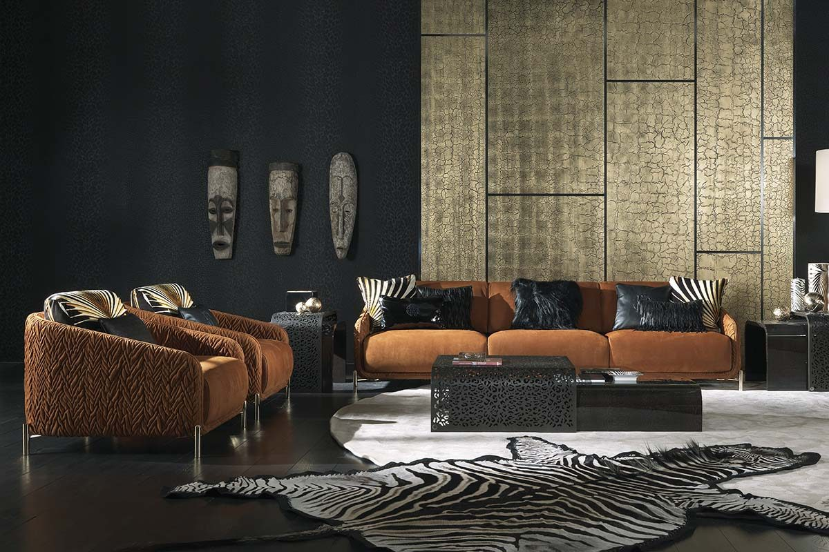 The African influence in «The Wild Living» by Roberto Cavalli Home