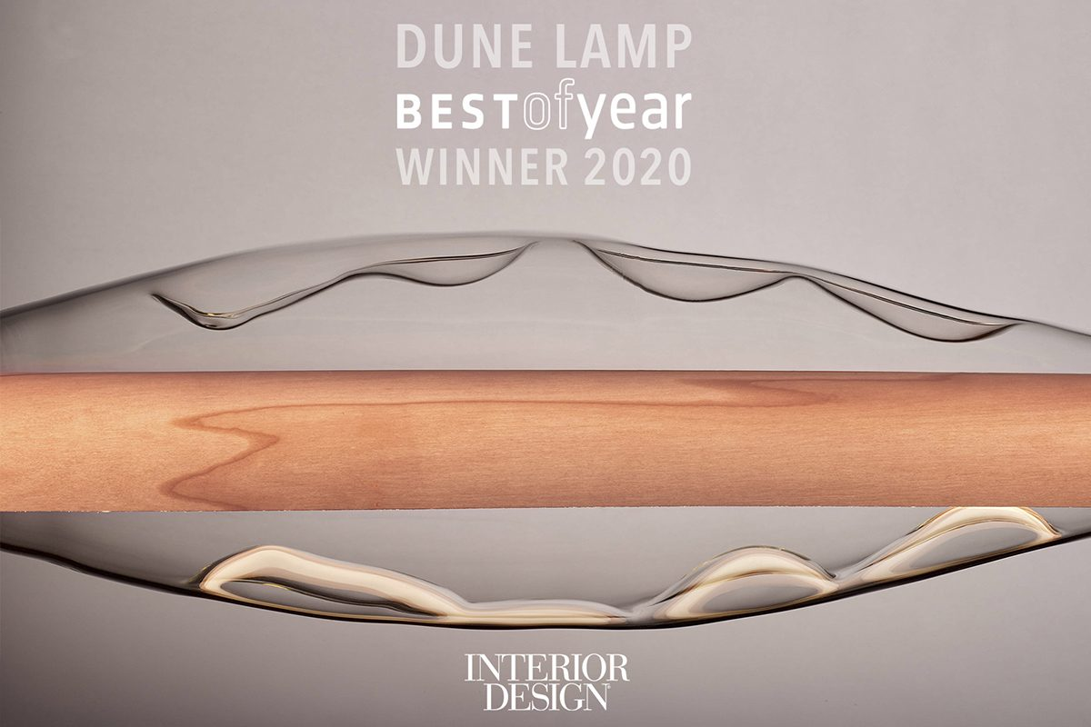 LZF's Dune lamp wins Interior Design's «Best of Year» award