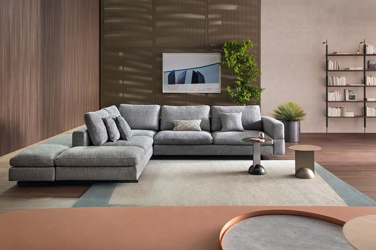 """To each their own cover"". Bonaldo presents its new textile collection"
