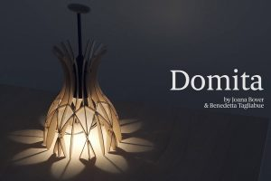 Benedetta Tagliabue and Joana Bover play with light and volume with Domita, a little wooden dome