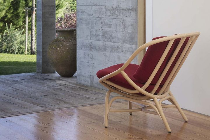 Armadillo by MUT Design for Expormim: craftsmanship, comfort and full of personality