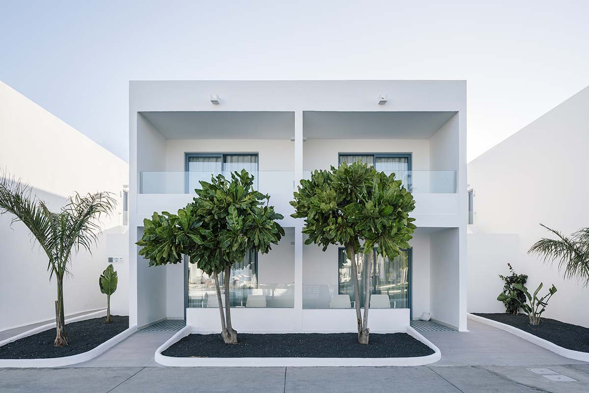 Oasis Lanz Hotel by Zooco Estudio. A harmonious set with the environment, elegant and captivating