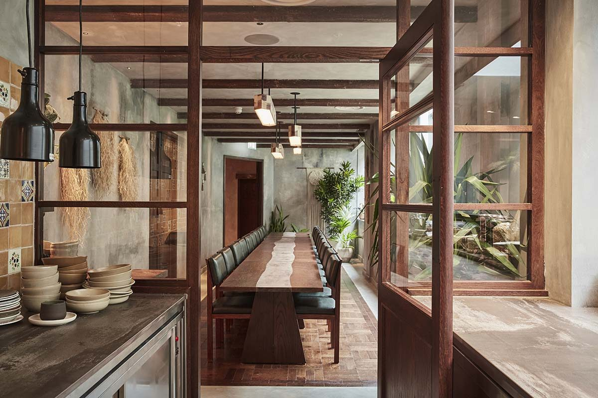 Kol by A-nrd, brings to life the spirit of Mexico through materiality, craft and inherent humbleness
