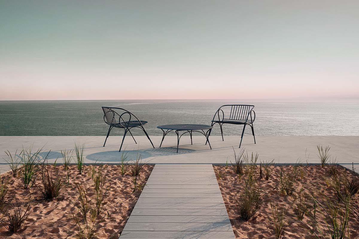 Barani by Valerio Sommella for Moooi, the new outdoor collection that feels like an extension of your home