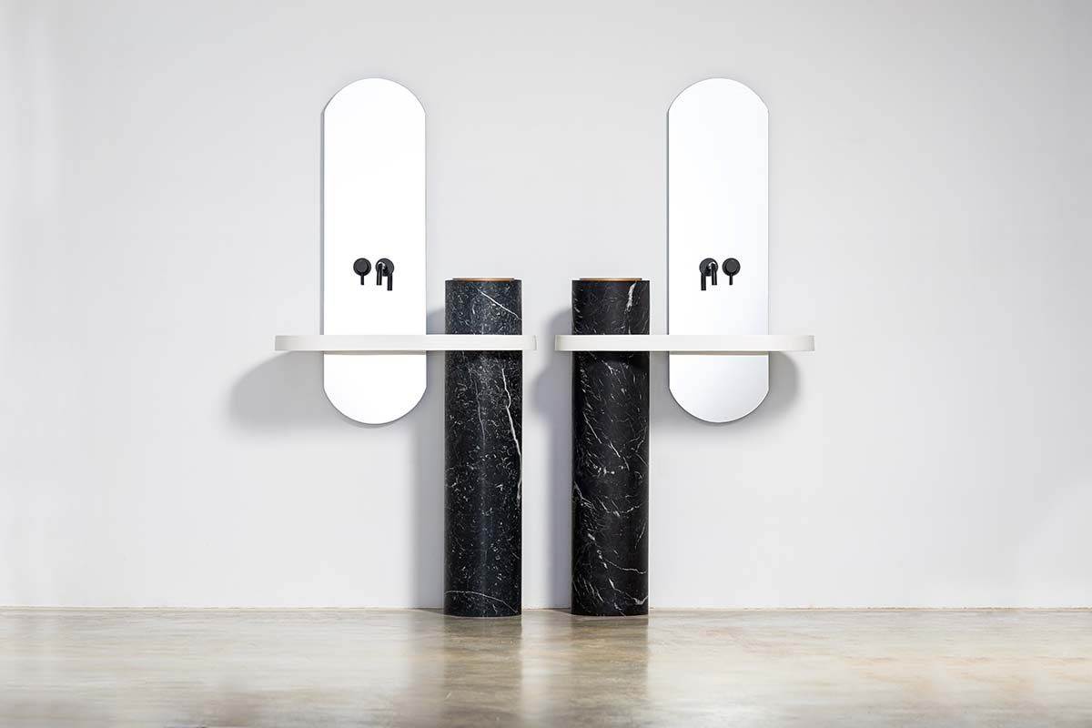 Monolith Series, the new bathroom furniture project by Minimal Studio