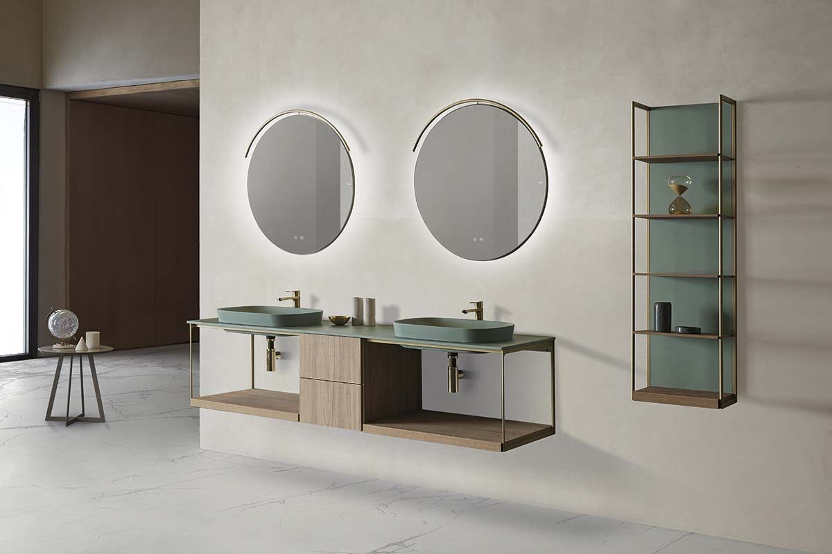 The SEN bathroom collection by Mario Ruiz for Fiora, is a clear commitment to adaptive design