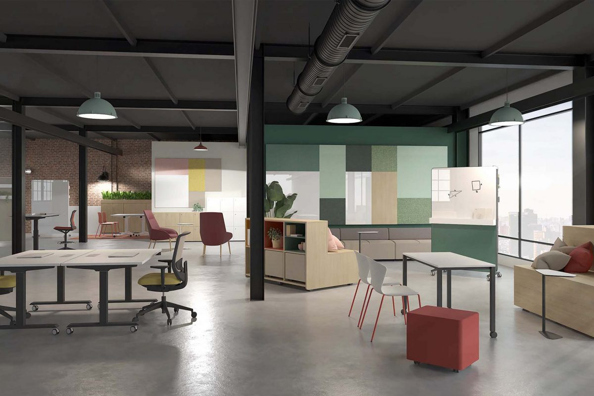 How many offices fit in side an office ?