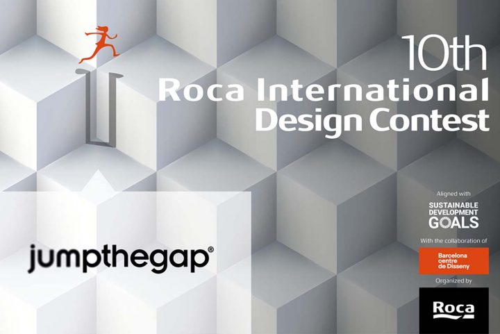 Roca launches the 10th edition of its international design contest, jumpthegap®