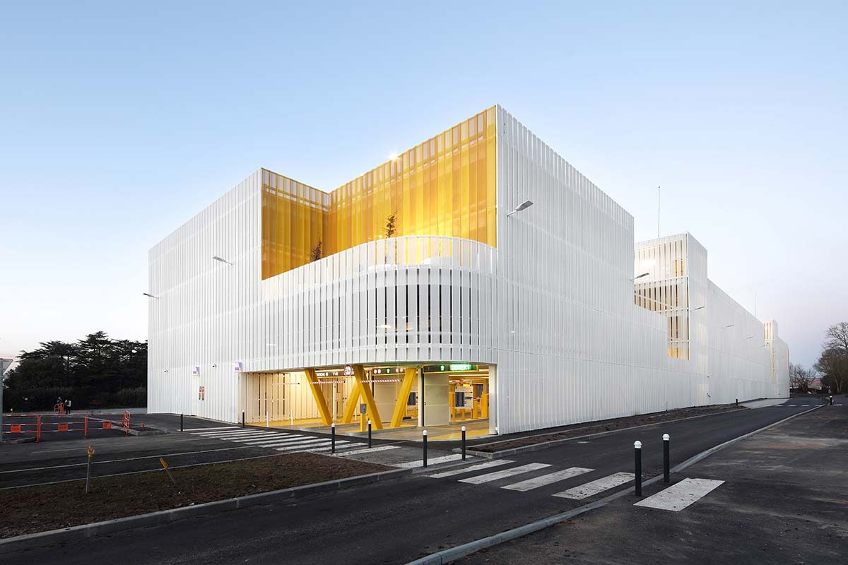 Parking and Intermodal Station in Nantes by IDOM
