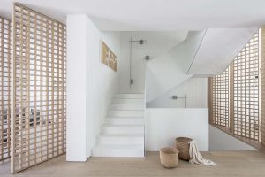 Tel Aviv Designer Selects the Structural Wall Lamp for a Contemporary Residence