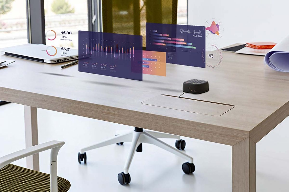 """Actiu launches """"Gaia"""", the first smart platform for healthy and efficient high performance spaces"""