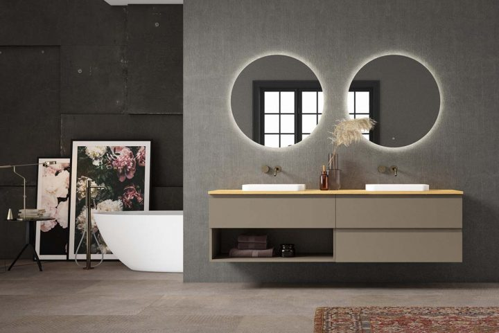 Play by Decosan, bathroom furniture with a standardised modular concept