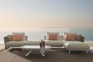 Coral by Marco Acerbis for Talenti. Interlacements of elegance for the outdoor