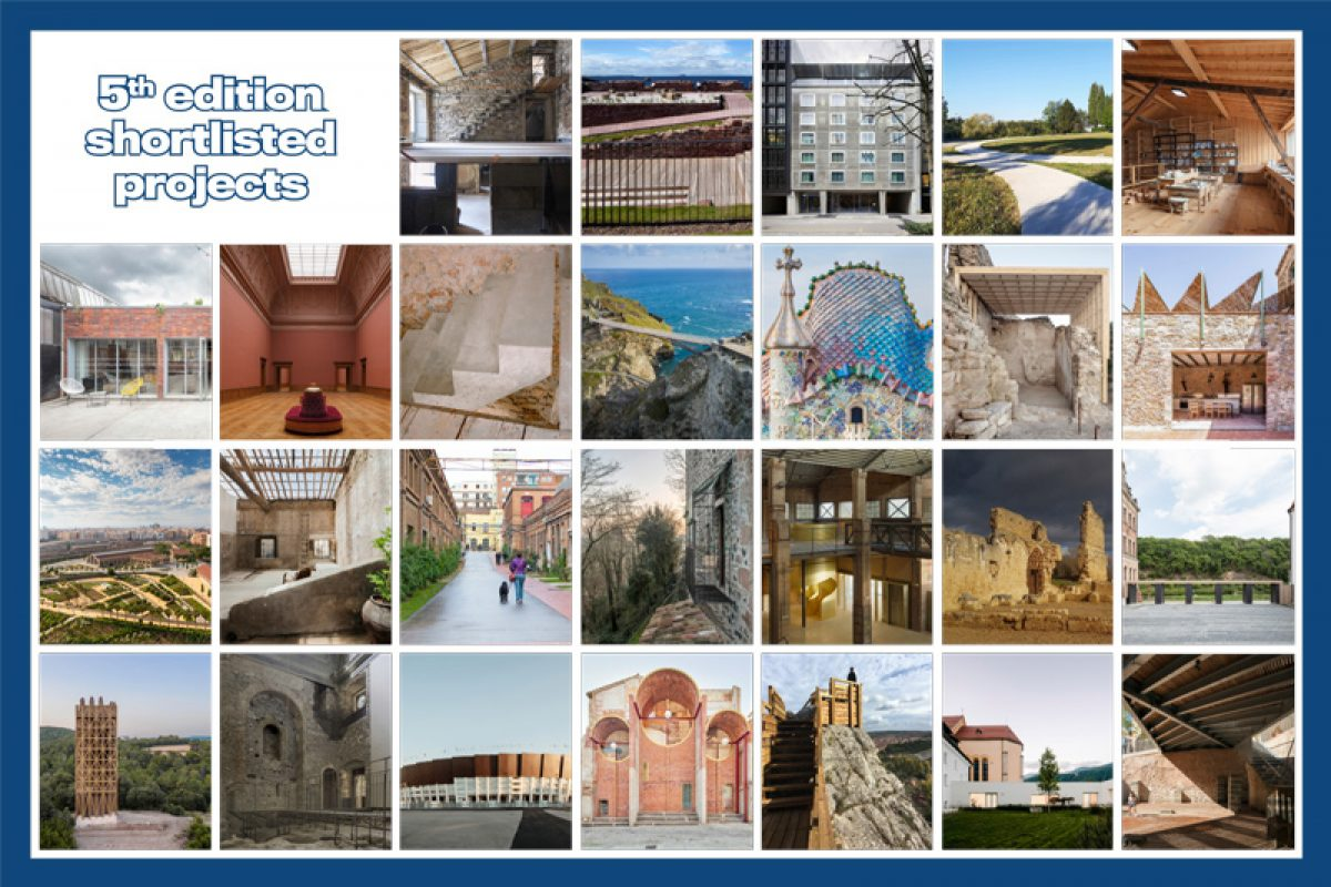 Shortlist announced of the European Award  for Architectural Heritage Intervention