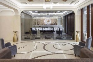 Contract project by Colonial Club at the Standart Hotel Moscow