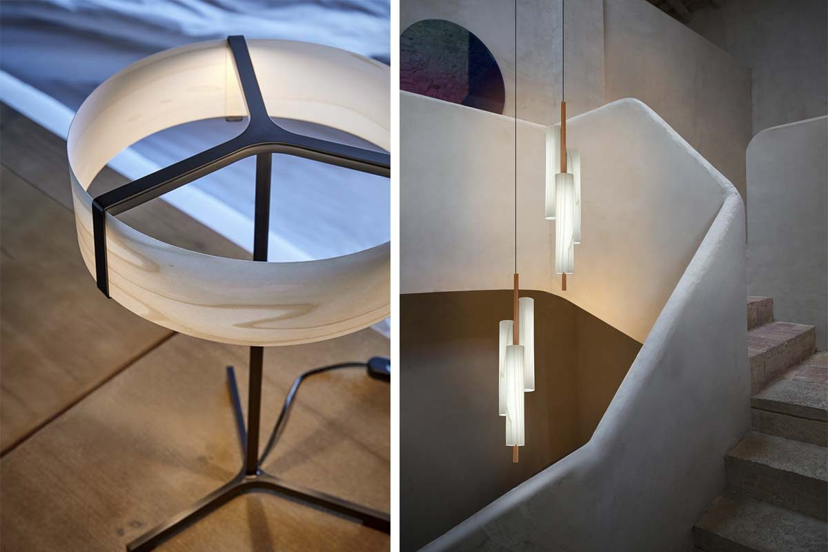 Thesis and Black Note collections by LZF and Ramón Esteve: LED technology where you least expect it