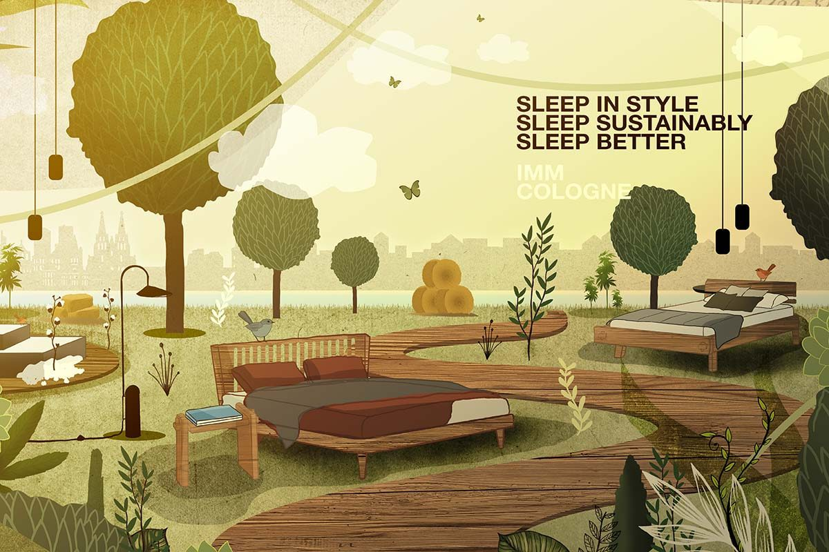 imm cologne 2022: Cosier, greener and smarter ways to sleep easy