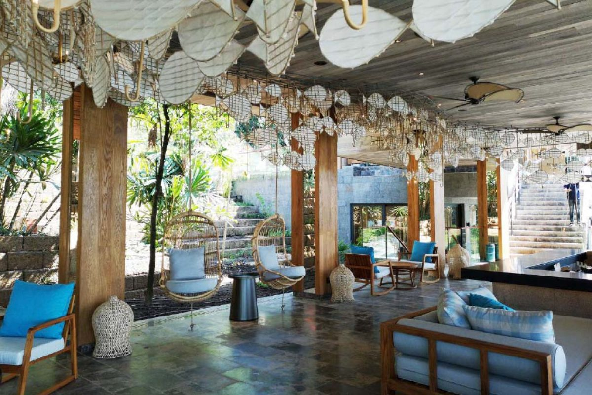 Contract project  by Colonial Club at the Six Senses Krabey Island Hotel in Cambodia