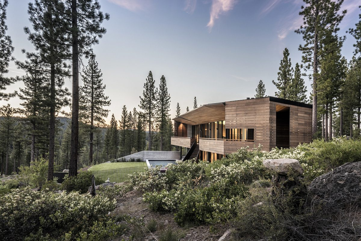 Viewfinder House in Truckee, California, by Faulkner Architects